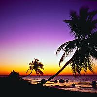 Sunrise taken from The Moorings, Islamorada, Florida.