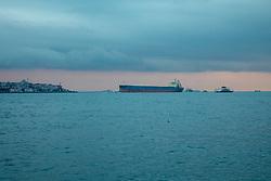 Tanker On The Bosphorus