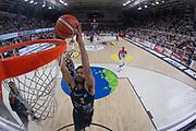 Shields Shavon<br /> Dolomiti Energia Aquila Trento - EA7 Olimpia Milano<br /> Legabasket Serie A 2017/18<br /> Finali, Gara 03<br /> Trento, 09/06/2018<br /> Foto MarcoBrondi / Ciamillo-Castoria