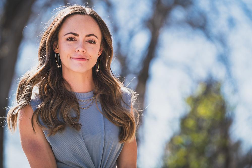 Shana Black, April 2020, Salt Lake City, Utah.
