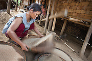 In the Karen traditional villages, people are farmers, teachers, craftsman, traditional healers, traders or Buddhist monks. Except for people who are only farmers, most people will combine these occupations.