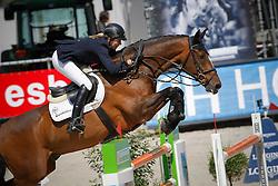 Liebherr Christina (SUI) - L.B. No Mercy<br /> Fifth of the Longines Grand Prix Port of Rotterdam<br /> CHIO Rotterdam 2009<br /> Photo © Dirk Caremans