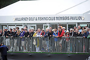 28-7-2011: All eyes on Rory McIlroy at the Irish Open in Killarney on Thursday..Picture by Don MacMonagle