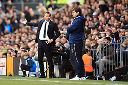 19 February 2017 - The FA Cup - (5th Round) - Fulham v Tottenham Hotspur - Slavisa Jokanovic manager of Fulham alongside Tottenham Hotspur Manager Mauricio Pochettino - Photo: Marc Atkins / Offside.