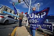 Pro-Trump Flag Rally in Northampton, PA