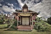 The Kealii O Ka Malu Church in Haleiwa on the North Shore of Oahu.