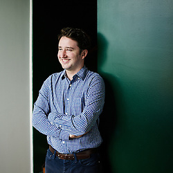 PARIS, FRANCE. NOVEMBER 6, 2013. Gabriel Zucman is studying the accumulation and distribution of global wealth. He's an assistant professor at the London School of Economics and visiting scholar at the UC Berkeley. He poses at Le Monde's HQ. Photo: Antoine Doyen