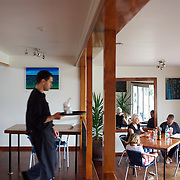 Cooper's beach cafe Coopers Beach. New Zealand,  20th November 2010 Photo Tim Clayton