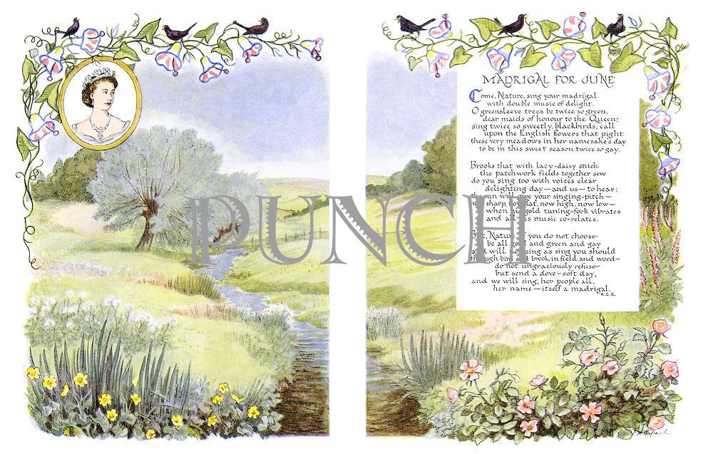 Madrigal for June (illustrated poem)