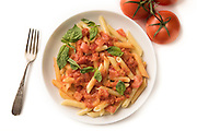Penne Alla Vodka by Rodney Bedsole, a food photographer based in Nashville and New York City.