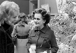 23 September 1970 - Margaret, Duchess of Argyll at a fashion show in London.<br /> <br /> Photo by Desmond O'Neill Features Ltd.  +44(0)1306 731608  www.donfeatures.com