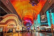Fremont Street Experience, Fremont Street, Las Vegas, NV