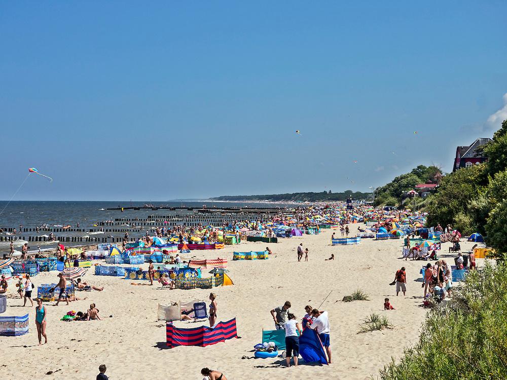 Plaża w Niechorzu