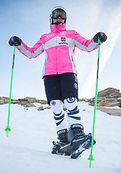 07.10.2013, Moelltaler Gletscher, Flattach, AUT, DSV Medientag, im Bild Viktoria Rebensburg // Viktoria Rebensburg during the media day of German Ski Federation DSV at Moelltaler glacier in Flattach, Austria on 2013/10/07. EXPA Pictures © 2013, PhotoCredit: EXPA/ Johann Groder