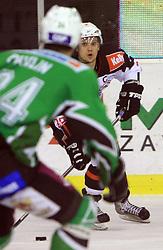Rodman Marcel at 39th Round of EBEL League ice hockey match between HDD Tilia Olimpija and Acroni Jesenice, on December 30, 2008, in Arena Tivoli, Ljubljana, Slovenia. Tilia Olimpija won 4:3.(Photo by Vid Ponikvar / SportIda).