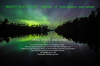 NIGHT FANTASTICO``NORTHERN LIGHTS~~Aurora Borealis