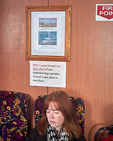 Seasick on the Tranquility Tourist boat to Cliff's of Moher. Image taken with a Leica X2 camera.