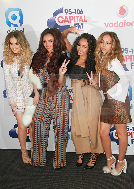 © London News Pictures. Little Mix, Capital FM Summertime Ball, Wembley Stadium, London UK, 06 June 2015, Photo by Brett D. Cove /LNP