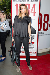 © Licensed to London News Pictures. 18/06/2015. London, UK. Linda Papadopoulos arrives at the press night for 1984 at the Playhouse Theatre, Northumberland Avenue in London tonight. Photo credit : Vickie Flores/LNP