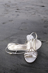 July 21, 2019 - High Heel Sandals On Wet Sand (Credit Image: © Caley Tse/Design Pics via ZUMA Wire)