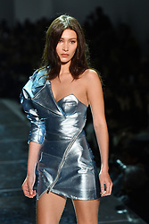 Bella Hadid walks on the runway during the Alexandre Vauthier Haute Couture Spring Summer 2017 shows as part of Paris Fashion Week on January 24, 2017 in Paris, France. Photo by Laurent Zabulon/ABACAPRESS.COM  | 579561_006