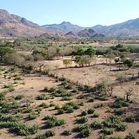Arid landscape in Choluteca.