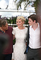 at the On The Road photocall at the 65th Cannes Film Festival France. The film is based on the book of the same name by beat writer Jack Kerouak and directed by Walter Salles. Wednesday 23rd May 2012 in Cannes Film Festival, France.