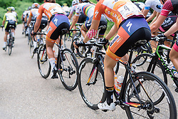 Boels Dolmans at Boels Hills Classic 2016. A 131km road race from Sittard to Berg en Terblijt, Netherlands on 27th May 2016.