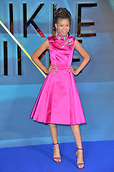© Licensed to London News Pictures. 13/03/2018. London, UK. STORM REID arrives for the European film premiere of A Wrinkle In Time.<br /> Photo credit: Ray Tang/LNP