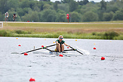 Race: 43  Women's Single Sculls - Championship - Heat<br /> <br /> The Metropolitan Regatta 2019<br /> Sunday<br /> <br /> To purchase this photo, or to see pricing information for Prints and Downloads, click the blue 'Add to Cart' button at the top-right of the page.
