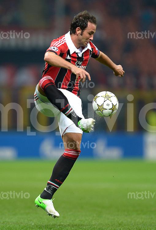 FUSSBALL   CHAMPIONS LEAGUE   SAISON 2012/2013   GRUPPENPHASE   AC Mailand - Anderlecht                            18.09.2012 Pazzini Giampaolo (AC Mailand)