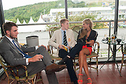 EDWARD ALUN-JONES; HERMIONE CORNFIELD, Ladies Day, Glorious Goodwood. Goodwood. August 2, 2012