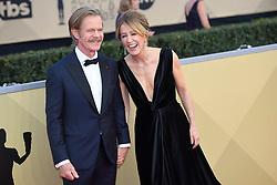 January 20, 2018 - Los Angeles, California, U.S. - WILLIAM H MACY AND FELILos Angeles HUFFMAN during red carpet arrivals for the 24th Annual Screen Actors Guild Awards, held at The Shrine Expo Hall. (Credit Image: © Kevin Sullivan via ZUMA Wire)
