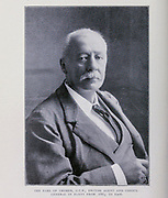 The Earl Of Cromer, G.C.B.. British Agent And Consul- General In Egypt From 1883 To I906 From the Book '  Britain across the seas : Africa : a history and description of the British Empire in Africa ' by Johnston, Harry Hamilton, Sir, 1858-1927 Published in 1910 in London by National Society's Depository