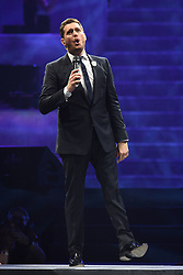 Michael Buble performs at The BB and T center. 15 Feb 2019 Pictured: Michael Buble. Photo credit: MPI04/Capital Pictures / MEGA TheMegaAgency.com +1 888 505 6342