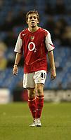 Fotball<br /> Foto: SBI/Digitalsport<br /> NORWAY ONLY<br /> 27.10.2004<br /> Carling Cup 3 runde<br /> <br /> Manchester City v Arsenal<br /> <br /> Arsenal's Arturo Lupoli