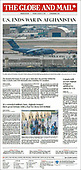 August 31, 2021 - CANADA: Front-page: Today's Newspapers In Canada