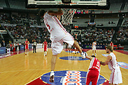 DESCRIZIONE : Roma Lega A1 2006-07 Lottomatica Virtus Roma Whirlpool Varese <br /> GIOCATORE : Giachetti <br /> SQUADRA : Lottomatica Virtus Roma <br /> EVENTO : Campionato Lega A1 2006-2007 <br /> GARA : Lottomatica Virtus Roma Whirlpool Varese <br /> DATA : 25/04/2007 <br /> CATEGORIA : Schiacciata <br /> SPORT : Pallacanestro <br /> AUTORE : Agenzia Ciamillo-Castoria/G.Ciamillo