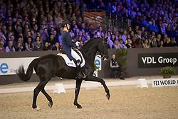 Witte Vrees Madeleine, NED, Bloms Wynton<br /> Indoor Brabant - Den Bosch 2017<br /> © Hippo Foto - Dirk Caremans<br /> 11/03/2017