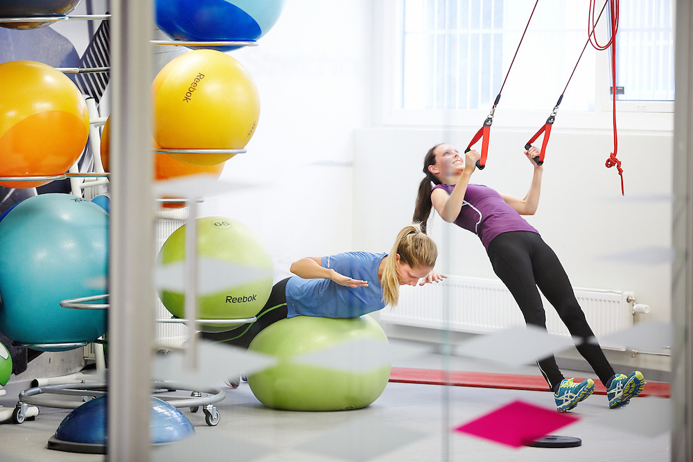 Corporate photography on fitness in Norway