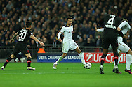 Dele Alli of Tottenham Hotspur (c)  in action. UEFA Champions league match, group E, Tottenham Hotspur v Bayer Leverkusen at Wembley Stadium in London on Wednesday 2nd November 2016.<br /> pic by John Patrick Fletcher, Andrew Orchard sports photography.
