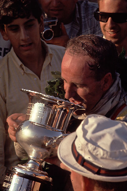 Denny Hulme, winner of 1967 Bridgehampton Can-Am