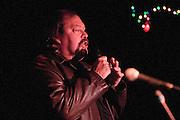 Glen Jones introducing Graham Parker at the Tabernacle, Mt. Tabor, NJ 10/23/2010.