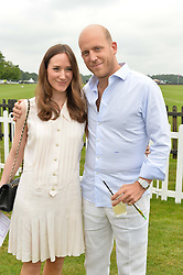 CARLO CARELLO and ALEX EDWARDS at the Cartier Queen's Cup Polo final at Guard's Polo Club, Smiths Lawn, Windsor Great Park, Egham, Surrey on 14th June 2015