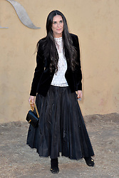 Demi Moore attends the Christian Dior Cruise 2018 on May 11th, 2017 in Calabasas, California. Photo by ABACAPRESS.COM
