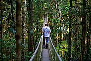 Porto Seguro_BA, Brasil...Turista na Reserva Particular do Patrimonio Natural (RPPN)...The tourist in the the Private Natural Heritage Reserve (RPPN)...Foto: JOAO MARCOS ROSA /  NITRO.