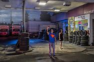 American Dreamscapes / Superman , Bend, Oregon, USA,2015