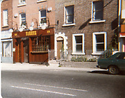 Old amateur photos of Dublin streets churches, cars, lanes, roads, shops schools, hospitals, Streetscape views are hard to come by while the quality is not always the best in this collection they do capture Dublin streets not often available and have seen a lot of change since photos were taken Parnell St James St shop Marlbororgh St