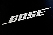 Sign for stereo and home entertainment shop Bose.