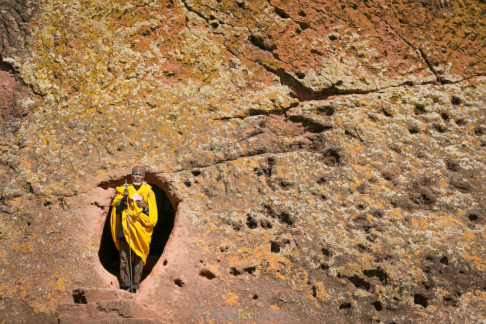 Portrait of a Monk, Lalibela. Ethiopia, Horn of Africa